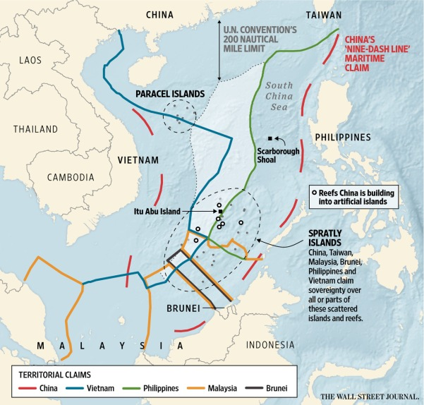 South China conflict